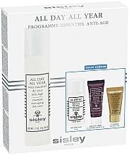 Парфюмерия и Козметика Комплект за лице - Sisley All Day All Year Discovery Program (крем/50ml+демакиант/30ml+маска/10ml+серум/5ml)