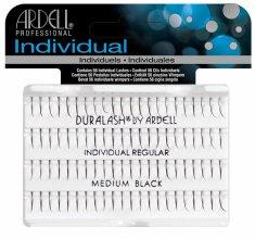 Парфюми, Парфюмерия, козметика Комплект мигли на снопчета - Ardell Duralash Individual Regular Medium Black Lashes