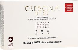 Парфюмерия и Козметика Възстановяваща терапия против косопад за мъже 200 - Crescina Re-Growth HFSC 100% + Crescina Anti-Hair Loss HSSC
