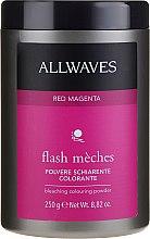Парфюмерия и Козметика Изсветляваща и оцветяваща пудра за коса - Allwaves Flash Maches Bleaching Colouring Powder
