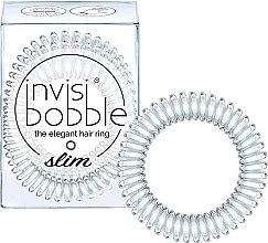 Парфюми, Парфюмерия, козметика Ластик за коса - Invisibobble Slim Crystal Clear