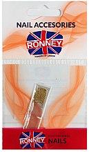 Парфюми, Парфюмерия, козметика Декориращи топчета за нокти, 00381, златисти - Ronney Professional Decoration For Nails