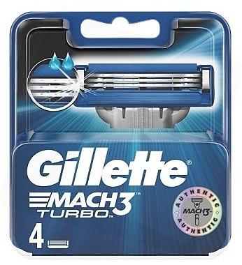 Ножчета за бръснене - Gillette Mach3 Turbo