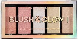 Парфюми, Парфюмерия, козметика Палитра за грим - Profusion Cosmetics Blush & Glow