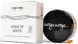 Парфюмерия и Козметика Хайлайтър за лице - Uoga Uoga Game Of Lights Highlighting Powder