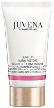 Парфюмерия и Козметика Подхранващ и подмладяващ концентрат за шия и деколте - Juvena Juvelia Nutri Restore Decollete Concentrate