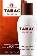 Парфюмерия и Козметика Maurer & Wirtz Tabac Original Pre Electric Shave - Лосион за преди бръснене