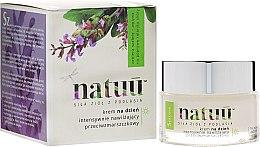 Парфюми, Парфюмерия, козметика Крем за лице с екстракт от зелен чай - Natuu Smooth & Lift Day Face Cream