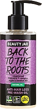 Парфюмерия и Козметика Масло против косопад - Beauty Jar Back To The Roots Pre-wash Oil