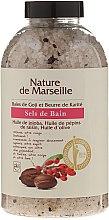 Парфюми, Парфюмерия, козметика Соли за вана с аромат на годжи бери и масло от шеа - Nature de Marseille