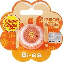 """Парфюмерия и Козметика Балсам за устни """"Портокал"""" - Bi-es Chupa Chups Orange Lip Balm"""