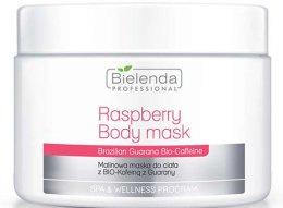 Парфюми, Парфюмерия, козметика Маска за тяло - Bielenda Professional Raspberry With Guarana Bio-Caffeine Body Mask