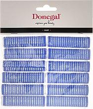 Парфюмерия и Козметика Лепящи ролки за коса 15 мм, 12 бр. - Donegal Hair Curlers