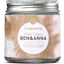 Парфюмерия и Козметика Зъбен прах с канела - Ben & Anna Toothpowder Cinnamon