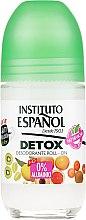 Парфюмерия и Козметика Рол-он дезодорант - Instituto Espanol Detox Deodorant Roll-on