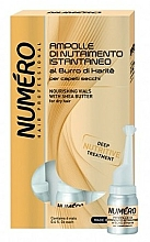 Парфюмерия и Козметика Подхранващ лосион за коса масло от карите - Brelil Numero Nourishing Vials For Hair With Shea Butter