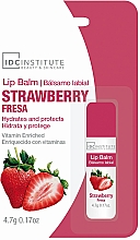 Парфюмерия и Козметика Балсам за устни с аромат на ягода - IDC Institute Lip Balm Strawberry
