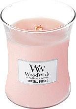 Парфюмерия и Козметика Ароматна свещ в чаша - WoodWick Hourglass Candle Coastal Sunset