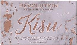 Парфюми, Парфюмерия, козметика Палитра сенки за очи - Makeup Revolution x Kisu Eyeshadow Palette