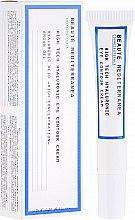Парфюмерия и Козметика Околоочен крем с хиалуронова киселина - Beaute Mediterranea High Tech Hyaluronic Eye Contour Cream