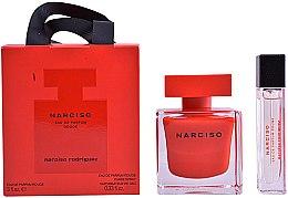 Парфюмерия и Козметика Narciso Rodriguez Narciso Rouge - Комплект парфюмна вода (edp/90ml + edp/10ml)