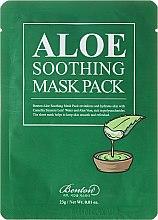 Парфюми, Парфюмерия, козметика Хидратираща маска за лице - Benton Aloe Soothing Mask Pack