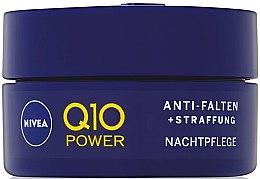 Парфюми, Парфюмерия, козметика Укрепващ нощен крем против бръчки - Nivea Q10 Power