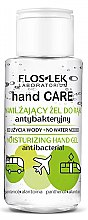 Парфюмерия и Козметика Антибактериален гел за ръце - Floslek Hand Care Moisturizing Hand Gel