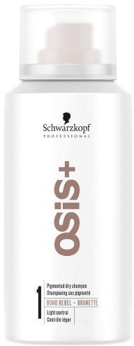 Сух шампоан за брюнетки - Schwarzkopf Professional Osis+ Boho Rebel Brunette