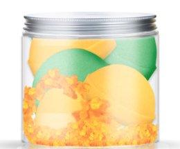 Парфюми, Парфюмерия, козметика Комплект бомбички за вана - Nacomi Orange Vanilla and Green Tea Bath Bomb (bomb/4броя