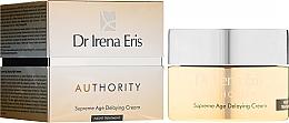 Парфюмерия и Козметика Нощен крем за лице - Dr Irena Eris Authority Supreme Age Delaying Cream