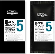 Парфюмерия и Козметика Изсветляващ крем за коса - L'Oreal Professionnel Blond Studio Majimeches 5 Amonnia Free Lightening Cream