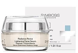 Парфюмерия и Козметика Изсветляващ серум за лице - Symbiosis London Radiance Revive Lightening Facial Serum
