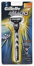 Парфюми, Парфюмерия, козметика Самобръсначка със 1 сменяемо ножче - Gillette Mach 3 Razor Blade Turbo