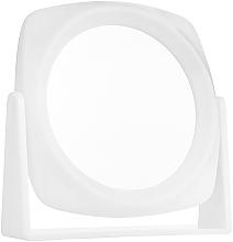 Парфюмерия и Козметика Двустранно козметично огледало, бяло - Titania