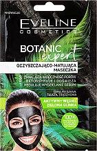 Парфюмерия и Козметика Маска за лице - Eveline Cosmetics Botanic Expert Purifying & Mattifying Face Mask