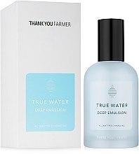Парфюми, Парфюмерия, козметика Дълбоко хидратираща емулсия за лице - Thank You Farmer True Water Deep Emulsion
