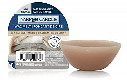 Парфюмерия и Козметика Ароматен восък - Yankee Candle Wax Melt Warm Cashmere
