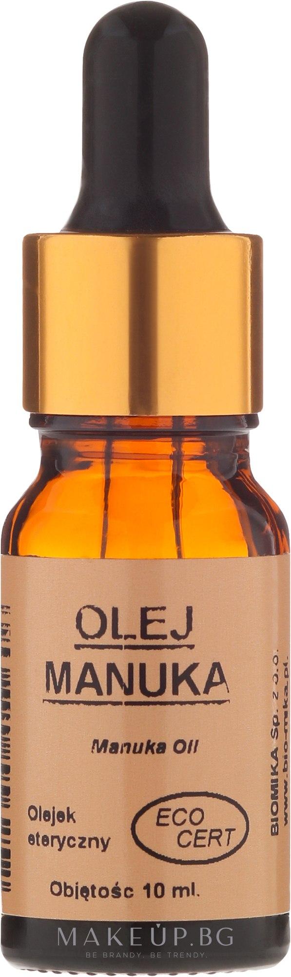 "Натурално масло ""Манука"" - Biomika Oil Manuka — снимка 10 ml"