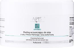 Парфюмерия и Козметика Почистващ пилинг за крака - Apis Professional Api-Podo