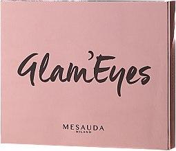 Парфюми, Парфюмерия, козметика Палитра сенки за очи - Mesauda Milano Glam'eyes 12 Multi Finish Compact