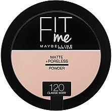 Парфюми, Парфюмерия, козметика Компактна матираща пудра - Maybelline Fit Me Matte Poreless Pressed Powder (8.5 g)