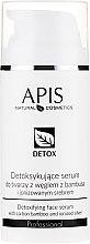 Парфюмерия и Козметика Серум-детокс за мазна и комбинирана кожа - APIS Professional Detox Detoxifying Face Serum With Carbon Bamboo And Ionized Silver