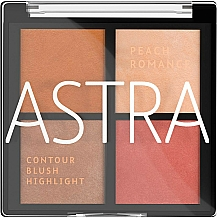 Парфюмерия и Козметика Палитра за грим - Astra Make-up The Romance Palette