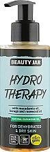 """Парфюмерия и Козметика Почистващо масло за дехидратирана кожа """"Hydro Therapy"""" - Beauty Jar Natural Cleansing Oil"""