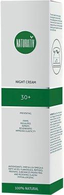 Нощен крем за лице - Naturativ Facial Night Cream 30+ — снимка N2
