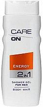Парфюми, Парфюмерия, козметика Душ гел 2 в 1 за мъже - Care On Energy Gel Shower