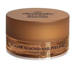 Парфюми, Парфюмерия, козметика Пилинг за всички видове нокти - Alessandro International Sugar Almond Nail Peeling