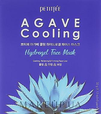 Хидрогелна хидратираща маска за лице с екстракт от столетник - Petitfee&Koelf Agave Cooling Hydrogel Face Mask — снимка N1