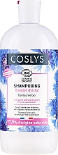 Парфюмерия и Козметика Шампоан с екстракт от метличина за сива коса - Coslys Shampoo for Grey & White Hair with Organic Centaurea Extract